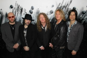 Keith Weir, Guy Griffin, Paul Guerin, Joe Elliott, Phil Martini